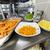 кухне · печи · пламени · сковорода · стороны - Сток-фото © boggy