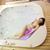 少女 · 温水浴槽 · 女性 · 花 · 自然 · ボディ - ストックフォト © boggy