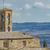 ortaçağ · köy · Toskana · İtalya · ev · duvar - stok fotoğraf © boggy