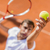 jonge · man · spelen · tennis · man · sport · jonge - stockfoto © boggy