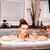 愛する · カップル · リラックス · 温水浴槽 · スパ · 水 - ストックフォト © boggy