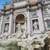 trevi fountain in rome italy stock photo © boggy