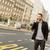 fiatalember · utca · mobiltelefon · telefon · férfi · város - stock fotó © boggy