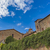 Toskana · İtalya · kasaba · gökyüzü · Bina · şehir - stok fotoğraf © boggy