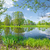 rivier · landschap · natuur · reserve · zonnige · voorjaar - stockfoto © bogumil