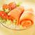 norwegian salmon on a plate stock photo © bogumil