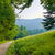 mattina · panorama · percorso · parco · montagna · cielo - foto d'archivio © bogumil