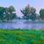 güzel · sabah · ağaçlar · nehir · ülke · manzara - stok fotoğraf © bogumil