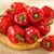 vermelho · pimenta · bubbles · comida · fruto · verde - foto stock © bogumil