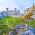 old medieval castle on rocks ogrodzieniec poland stock photo © bogumil