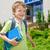 mi · primero · día · escuela · madre · pequeño - foto stock © bogumil