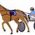 carreras · de · caballos · malhumorado · conductor · hombre · deporte · caballo - foto stock © bokica