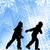 катание · на · коньках · мальчика · небольшой · заморожены · льда - Сток-фото © bokica