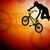 szenzáció · kerékpáros · absztrakt · textúra · utca · bicikli - stock fotó © bokica