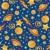 minta · bolygók · csillagok · vektor · kézzel · rajzolt · végtelen · minta - stock fotó © bonathos