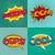 pop · art · szövegbuborékok · szett · klassz · bumm · upsz - stock fotó © BoogieMan