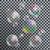 現実的な · シャボン玉 · 虹 · 反射 · 孤立した · 透明な - ストックフォト © boogieman