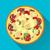 pizza · projeto · assinar · ícone · longo · sombra - foto stock © BoogieMan