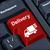 klawiatury · czerwony · przycisk · zakupy · online · działalności · biuro - zdjęcia stock © borysshevchuk