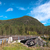 bridge in mountain landscape stock photo © borysshevchuk