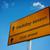 placa · sinalizadora · céu · à · frente · verão · cor - foto stock © borysshevchuk