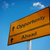 à · frente · placa · sinalizadora · estrada · viajar · cor - foto stock © borysshevchuk
