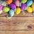 Пасху · пасхальных · яиц · деревянный · стол · Top · мнение · копия · пространства - Сток-фото © Bozena_Fulawka