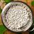 witte · bonen · groene · bladeren · houten · tafel · top - stockfoto © Bozena_Fulawka
