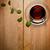 chá · de · vidro · copo · fresco · folhas - foto stock © Bozena_Fulawka