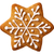 natal · pão · de · especiarias · estrela · forma · isolado · branco - foto stock © Bozena_Fulawka