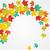 vallen · bladeren · frame · exemplaar · ruimte · eps · vector - stockfoto © brahmapootra