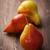 três · orgânico · peras · madeira · delicioso · verde - foto stock © brebca