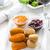 frito · queso · mozzarella · chile · pimienta · salsa · de · tomate - foto stock © brebca
