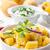 картофель · гриль · помидоров · еды · стейк - Сток-фото © brebca
