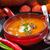 сливочный · тыква · суп · свежие · хлеб · Хэллоуин - Сток-фото © brebca