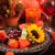 detalle · elegante · cena · flor · boda · luz - foto stock © brebca