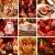 merry christmas collage stock photo © brebca