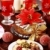 marchpane cake with wine punch and cookies stock photo © brebca