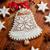 mézeskalács · harang · karácsony · hely · otthon · üveg - stock fotó © brebca