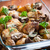 krumpli · hús · barbecue · szakács · kebab · főzés - stock fotó © brebca