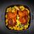 куриные · картофель · пластина · еды · блюдо - Сток-фото © brebca