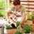 idős · nő · virágok · jobb · növekedés · tavasz · munka - stock fotó © brebca