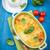 mozzarella · kaas · basilicum · geïsoleerd · witte · blad - stockfoto © brebca