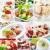 alimentos · restaurante · frutos · bolo · verde · frango - foto stock © brebca