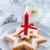 場所 · クリスマス · 赤 · 白 · ワイン · ケーキ - ストックフォト © brebca