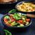 spenót · avokádó · saláta · egészséges · aszalt · áfonya - stock fotó © brebca