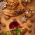 natal · bolinhos · bolo · vinho · vermelho · chá - foto stock © brebca