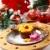çikolata · fincan · kek · Noel · meyve · şarap - stok fotoğraf © brebca