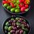 brut · casse-croûte · légumes · olives · dîner · plaque - photo stock © brebca