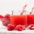 ahududu · iki · yüzlü · kırmızı · mavi · gıda · sağlık - stok fotoğraf © brebca